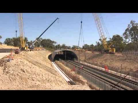 Mandurah Entrance Road - Parklands Rail Tunnel