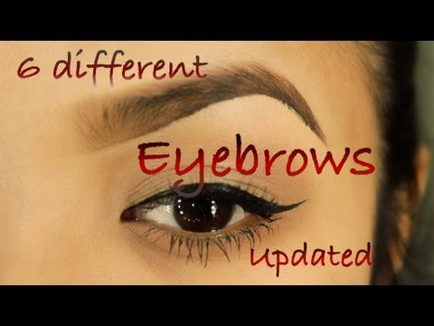 eyebrows - READ ME:::: hey there...you all had asked me to do another eyebrow tutorial.so here it is, instead of 1 i have decided to do 6 different shapes that i ha...