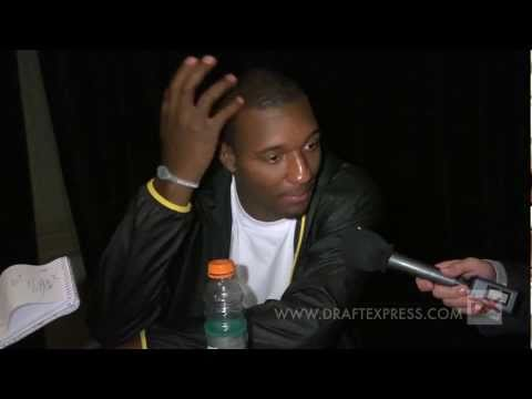 Jordan Hamilton Draft Combine Interview