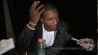 Jordan Hamilton Draft Combine Interview