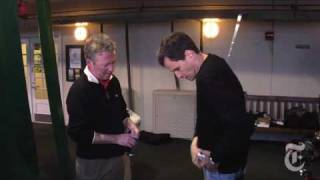 David Pogue and sports columnist Bill Pennington look at a few gadgets designed to help keep you in shape, and improve your game.Related Article: http://bit.ly/4GcZik