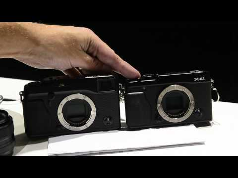 Fujifilm XE-1 Hands on (vs X Pro 1)