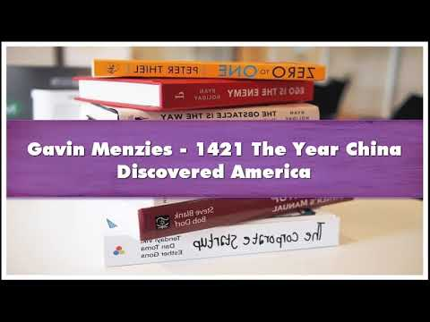 Gavin Menzies 1421 The Year China Discovered America Part 01 Audiobook