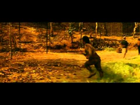 Hindi Film - Deewaar - Action Scene - Amitabh Bachchan - Sanjay Dutt - Majors Escape Attempt Fails