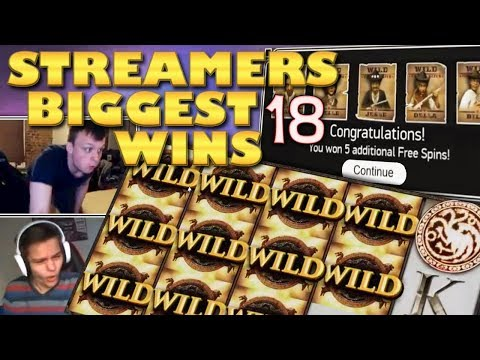 Streamers Biggest Wins – #18 / 2018