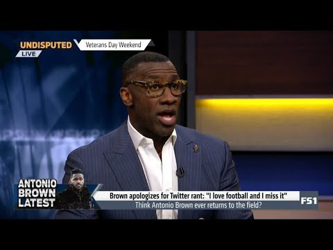 UNDISPUTED | Skip and Shannon [DEBATE] Think Antonio Brown ever returns to the field?