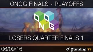 Losers Quarter Finals 1 - ONOG Circuit Finals - Playoffs