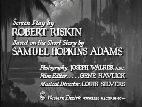 It Happened One Night (1934)  -- OPENING TITLE SEQUENCE