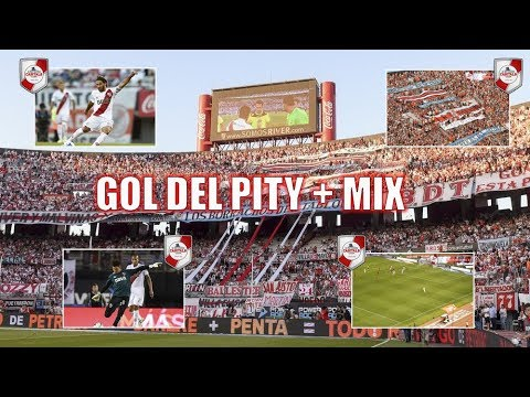 GOL DEL PITY MARTINEZ + MIX / River Plate vs Newell´s - Superliga 2017 - Los Borrachos del Tablón - River Plate