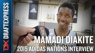 Mamadi Diakite 2015 Adidas Nations Interview