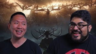 "John and Mike check out the new trailer for Thor: Ragnarok.Subscribe: https://www.youtube.com/user/nerdreactor?sub_confirmation=1Support us: http://www.patreon.com/nerdreactorNerd Reactor Store: https://shop.spreadshirt.com/nerdreactor/Website: http://nerdreactor.comInstagram: https://instagram.com/nerdreactorFacebook: http://facebook.com/nerdreactorTwitter: https://twitter.com/NerdReactorFollow us on Twitter:John: https://twitter.com/JohnSpartan300Mike: https://twitter.com/MikeReactor""Impending Boom"" Kevin MacLeod (incompetech.com)Licensed under Creative Commons By Attribution 3.0 LicenseCreative Commons — Attribution 3.0 Unported — CC BY 3.0"