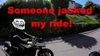10. Ride in Germany. Day 2 part 2(7-6-15):Ride on the Guzzi.