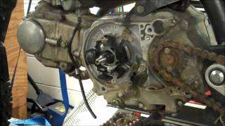 8. Honda 50 Flywheel Removal & Installation with Puller