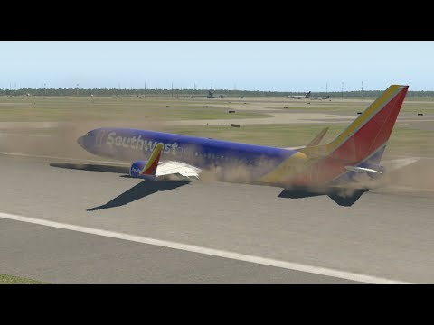Landing Gear Failure Emergency Landing Challenge