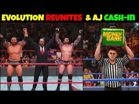 WWE 2K19 My CAREER MODE EPISODE 10    Evolution REUNITES & Aj Styles CASH-In WWE 2K19    EPISODE 10