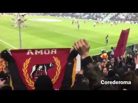 Juve - Roma 1-0 settore romanista 24.01.2016