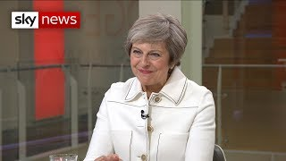 PM tells Sky News: 'I've never thought of giving up'