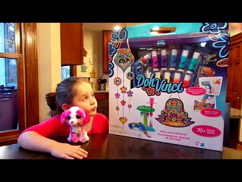 DohVinci Mega Color Mixer Kit-Chloe's Toy Time (видео)