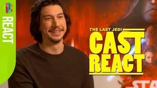 Video Star Wars: The Last Jedi cast react to fan questions! MP3, 3GP, MP4, WEBM, AVI, FLV Februari 2018