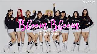 Download Lagu [3D+BASS BOOSTED] MOMOLAND (모모랜드) - BBOOM BBOOM (뿜뿜)  | bumble.bts Mp3