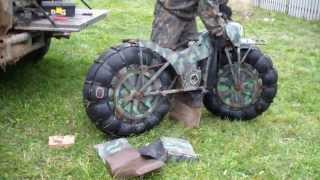 Go-Anywhere With This Russian Motorbike!