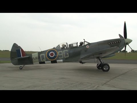 Video WWII Luftwaffe Ace Takes To The Skies In A Spitfire | Forces TV download in MP3, 3GP, MP4, WEBM, AVI, FLV January 2017
