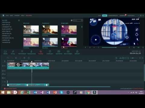 Wondershare Filmora kullanımı /müzik ekleme,intro,hızlandırma VB./
