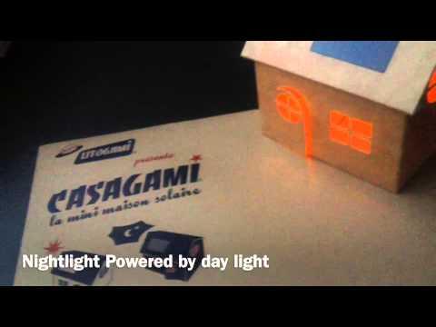 Casagami: la lámpara solar ideal para niños