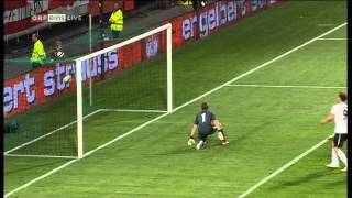 Marko Arnautovic trifft zum 3:2 gegen die Ukraine