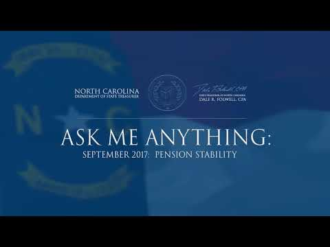 Ask Me Anything - September 2017: Pension Stability