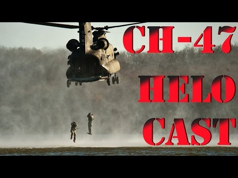 CH-47 Chinook Helicopter Helo Cast...