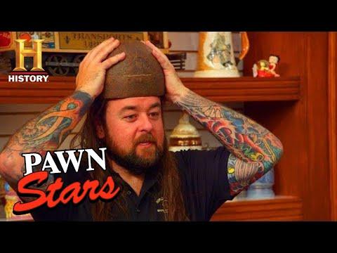 "Pawn Stars: BIG MONEY for RARE ""ONE-IN-A-MILLION"" HELMET (Season 17)   History"