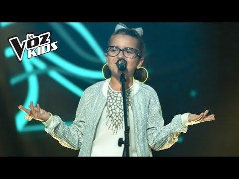 Monserrat canta Chocolate - Audiciones a ciegas | La Voz Kids Colombia 2018