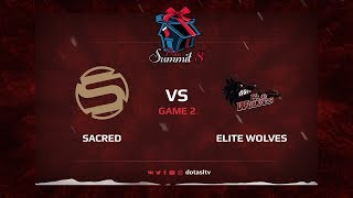 Sacred против Elite Wolves, Вторая карта, Квалификация на Dota Summit 8