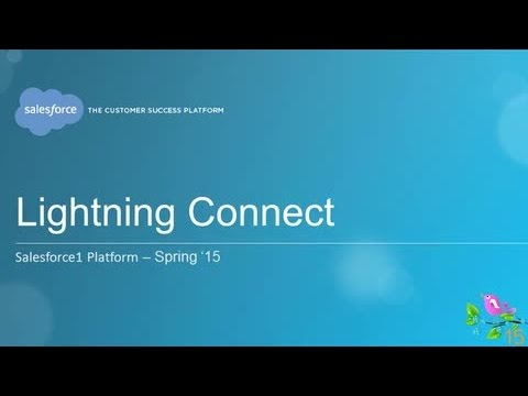 Spring '15 - Lightning Connect