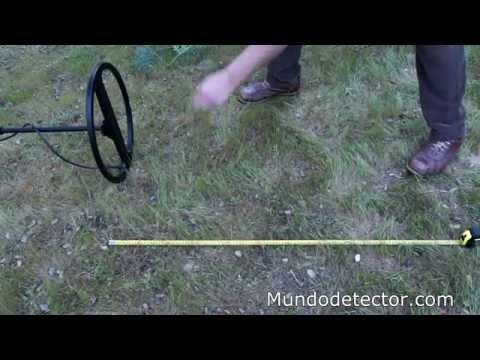 Detector de metales Makro CF77 en español