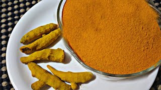 Home made pure turmeric powder   Rani swayam kalike
