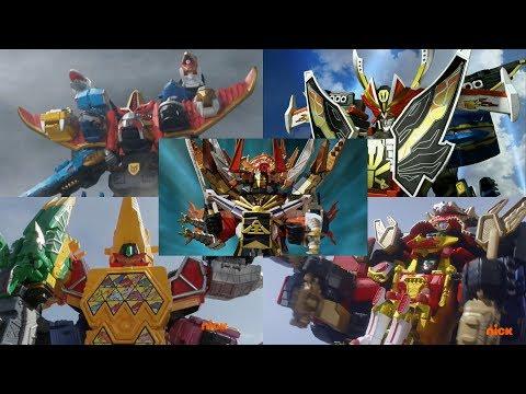 Ultrazords | Samurai, Megaforce, Dino Super Charge, & Ninja Steel | Power Rangers Official