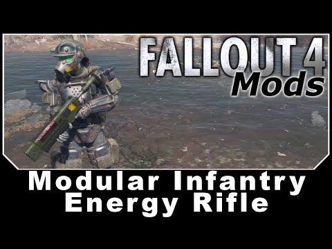 Fallout 4 Mods - Modular Infantry Energy Rifle