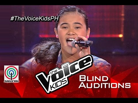 """The Voice Kids Philippines 2015 Blind Audition: """"Girl On Fire"""" by Martina"""