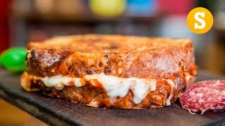 Epic Pizza Grilled Cheese Recipe by SORTEDfood