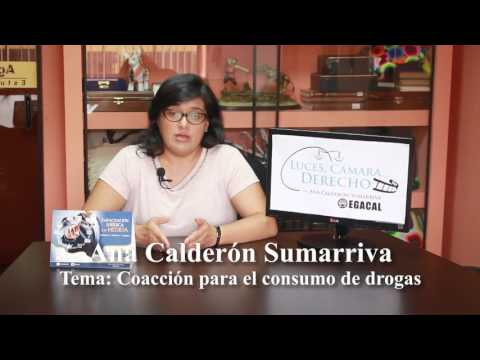 Programa 19 - Coacción para el consumo de drogas - Luces Cámara Derecho - EGACAL