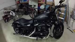 10. Harley Davidson Sportster Iron 883 Beginner Rider Review
