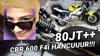 Video 80JT++ HANCUUUR CBR 600 F4i MP3, 3GP, MP4, WEBM, AVI, FLV Maret 2019