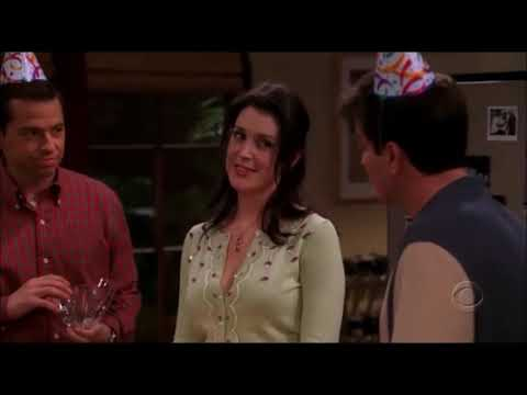 Two and a Half Men   Surprise Party For Rose HD