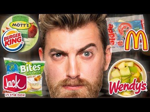 Fast Food Apples Taste Test