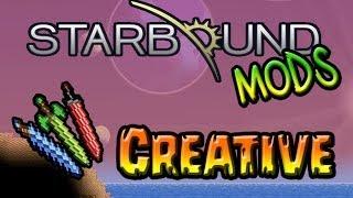 Un mod créative vous permettant d'obtenir la quasi totalité des items de Starbound armes , tech,materiaux etc pratique pour des constructions somptueuses ou ...