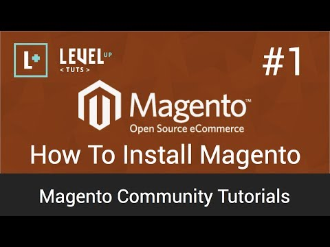 Magento Tutorial 1: How to install Magento (video)