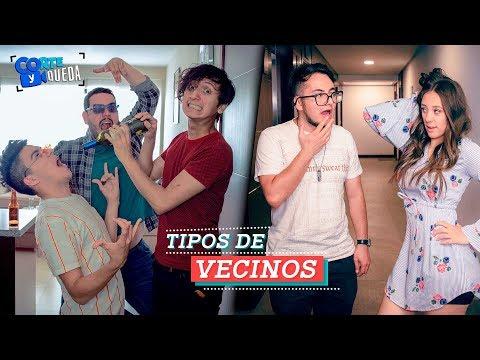 TIPOS DE VECINOS FT. QUE PARIÓ! | COMPARTE SI TIENES UNO IGUAL | CORTE Y QUEDA