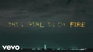 Alicia Keys music video Girl On Fire (Inferno Version) (feat. Nicki Minaj) (Lyric Video)